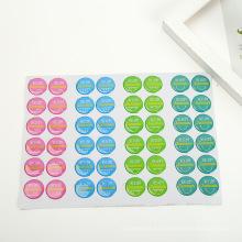 Los botones de nevera 3D personalizados Clear Logo Resina Dome Epoxy Sticker