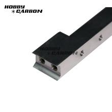 Piezas que muelen del CNC de la precisión de aluminio anodizado