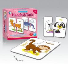 Образование 15шт бумаги животных головоломки игра-головоломка с en71 (10214748)