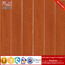 factory supply hot sale products Orange rustic wooden ceramic flooring tile