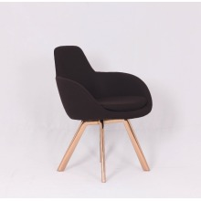 Diseñador moderno Tom Dixon High Scoop copper Chair