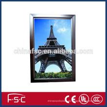 Acylic Aluminiumprofil für led Panel Lichtkasten