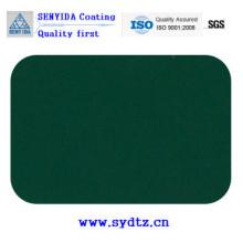 Peinture en poudre Peinture de vert foncé brillant