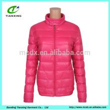 chaqueta rosada de encargo de las señoras de la venta