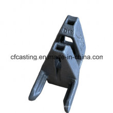 Lost Wax Casting Ledger Head Part with Carbon Steel