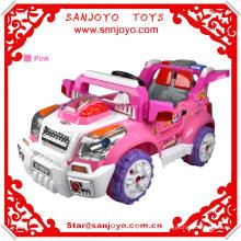Los niños de alta calidad montan en el coche eléctrico del bebé del coche con la batería de almacenaje del niño de la música HT-99850
