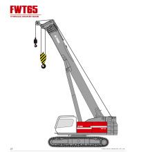 Grue sur chenilles télescopique FWT65 à vendre