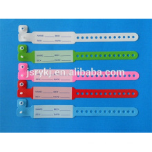 sterile wrist strap for hospital patient