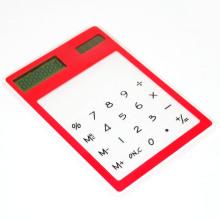 Calculateur de carte de crédit de poche solaire de haute qualité à vendre