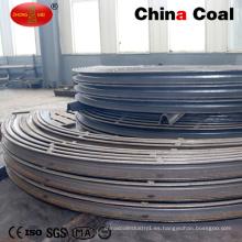 Soporte de mina de carbón Soporte de U Beam Steel Arch