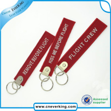 2016 Newest Promotion Gifts Custom Key Chain Remove Befor Flight
