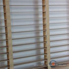 Tratamientos impermeables de madera de bambú para ventanas