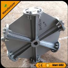 Xinxiang JIAHUI 6 baldes ventilador de la torre de enfriamiento de aluminio