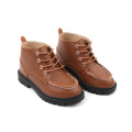 Brown Hard Kids Winter Warm Booots
