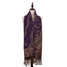 Echarpe chaude 100% Polyester Pashmina pour Lady
