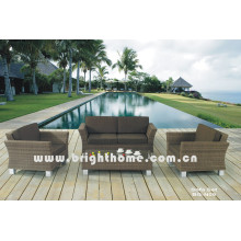 PE Rattan Wicker Garten Sofa Set Bg-N09