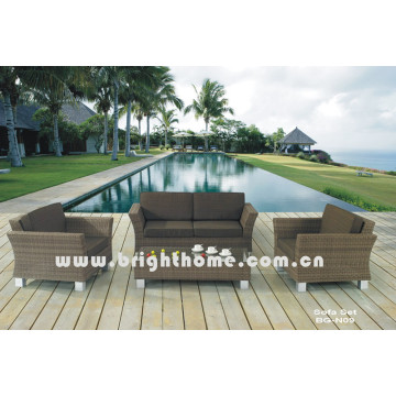 PE Rattan Wicker Garten Sofa Set Bg-N09