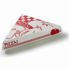 Caixa de papel feita sob encomenda da entrega da pizza do cartão branco do produto comestível