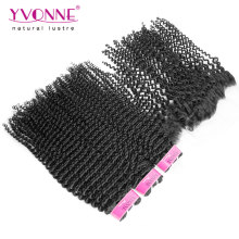 3PCS Brazilian Hair Bundles with Lace Frontal