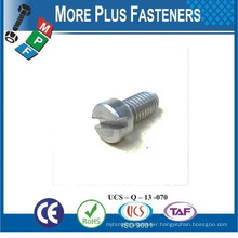 Made in Taiwan Slotted Cheese Head Square Head Slotted Truss Head Cross Recess Machine Screw