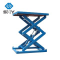 Подвижной Тип Гидровлический Scissor Платформа , Подъемный Стол