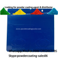 Polyurethane powder coatings paint with flexibility properties