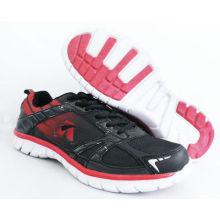 Grey / Black Men Sport Running Shoes , Outdoor Sport Shoes For Athletics
