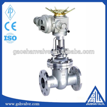 cf8 stainless steel electric rising stem gate valve drawing