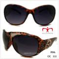 Пластиковые очки для дам с горный хрусталь и металлические украшения (WSP508368)
