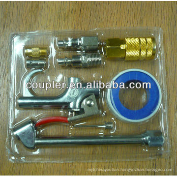 9 PC AIR ACCESSORY HOSE FITTING SET