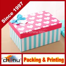 Caja de regalo de papel / caja de embalaje de papel (110240)