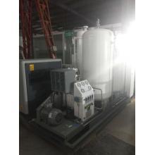 Instalación móvil de llenado de cilindros de oxígeno pequeños con aplicación