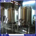 Réservoir de maturation de la bière 10BBL, réservoir droit de bière, réservoir de stockage de bière