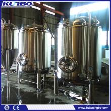KUNBO Réservoir de bouilloire Brite en acier inoxydable 1000L Bright Brite
