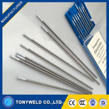 Manufacture 3.2*150mm pure tungsten electrodes wc20 tungsten carbide TIG welding rod pipe