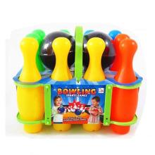 En71 Aprovação Esporte De Plástico Brinquedos De Boliche com 2 Bola De Boliche (10154448)