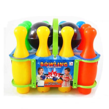У en71, одобрение Пластиковые спортивные игрушки Боулинг с 2 шар для боулинга (10154448)
