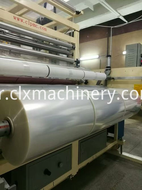 pe wrapping film making machine