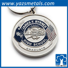 custom keychains james-f-byrnes-high-school keychain