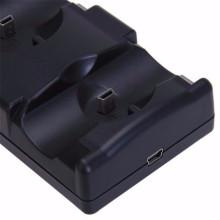 Mova o suporte de jogo para a estação de carregamento do controlador ps3 da estação de reprodução