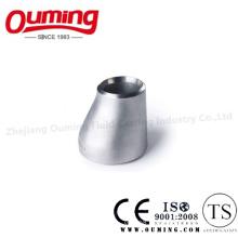 Réducteur excentrique de soudure bout à bout en acier inoxydable