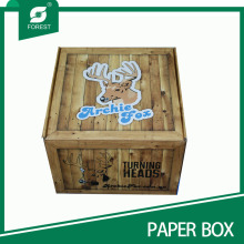 New Style Customized Printed Corrugated Paper Wholesale Deer Packaging Box