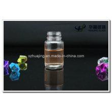 30g Round Transparent Glass Powder Bottles