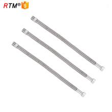 B17 4 13 mangueira flexível de gás flexível em aço inoxidável