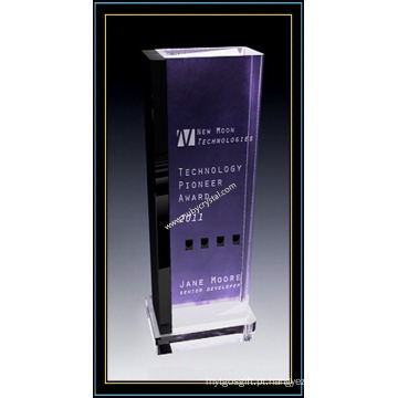 "Prédio de Cristal Roxo Prémio Placas 11 ""H (NU-CW704)"