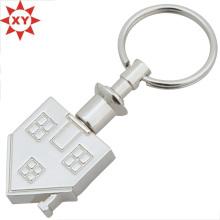 Großhandel Custom House Form Metall Schlüsselbund
