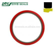 bronze PTFE heavy-duty rod seal for hydraulic cylinder sealing GSJ-W