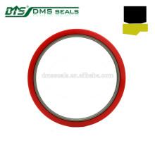 vedação de haste pesada de bronze PTFE para vedação de cilindro hidráulico GSJ-W