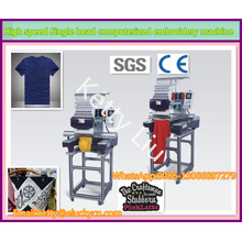 Big area1200SPM Single head with multi colors computerized embroidery machine for garment/sequins/shoe embroidery