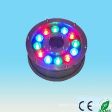 Alibaba exprime un nouveau produit sur le marché de la Chine 100-240v 12V 24V 9w 12w ip65 12w RGB conduit la lumière de la fontaine sous-marine